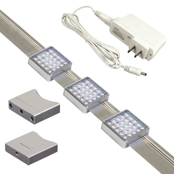 Jesco Silver Orionis Square LED Track Kit Jesco Lighting Group Under Cabinet  Plug In - Best 20+ Led Track Lighting Kits Ideas On Pinterest Led Track