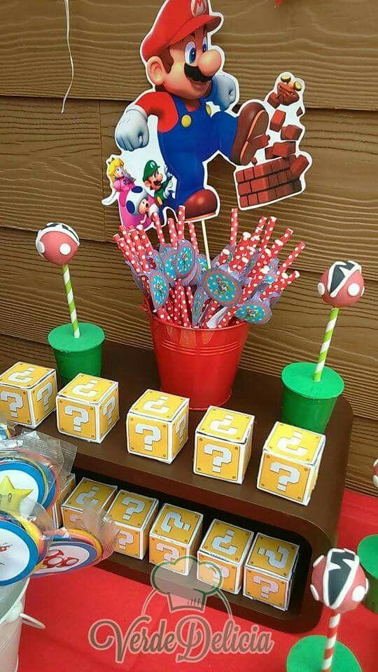 Mesa dulce Mario Bross