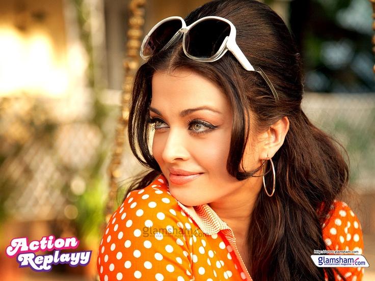 I love aishwarya rai's look in Action Replayy - Bollywood Retro Look