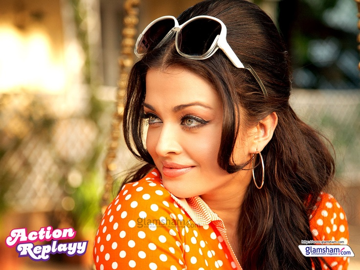 I love aishwarya rai's look in Action Replayy - Bollywood Retro Look