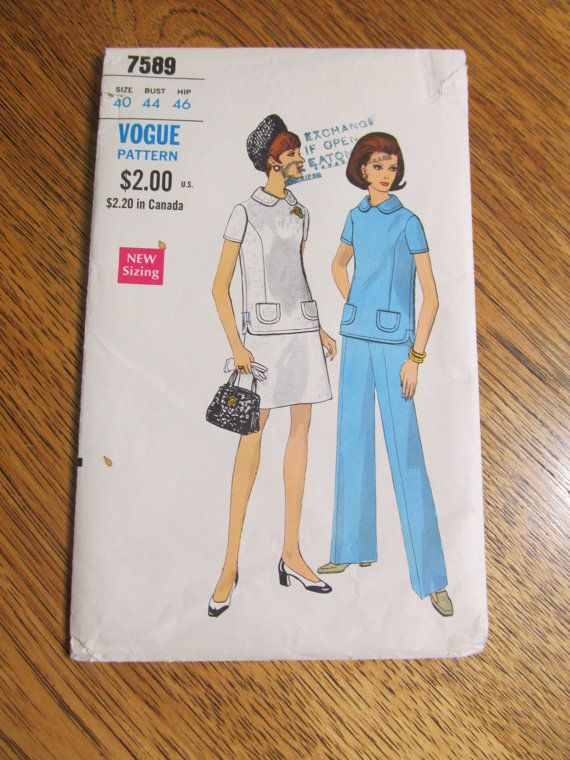 1960s MOD A Line Fit and Flare Top A Line Skirt & by PlatypusDream