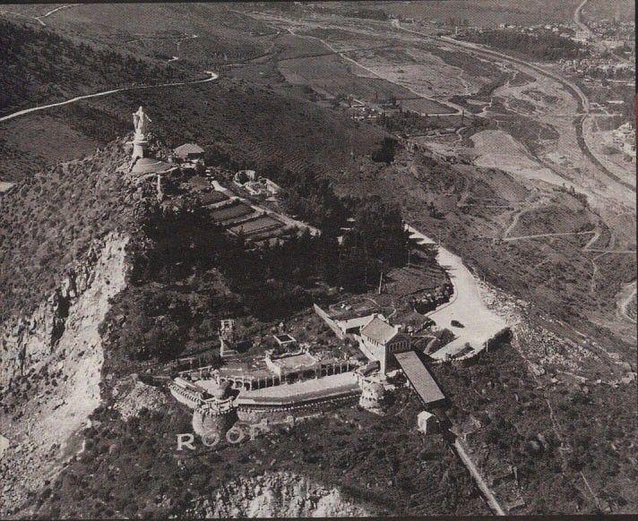Cerro San Cristobaly la Virgen Maria 1930