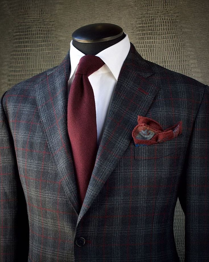 KEEP THE TONES TIGHT One of the best ways to work with a patterned suit  that features a second colour is to bring that secondary colour out in the  shirt, ...