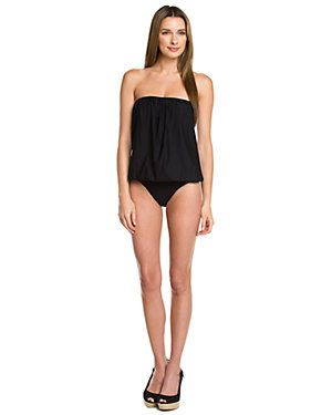 Spanx sale: Black Blouson One-Piece swimsuit on sale today for $79.90 – normally $188