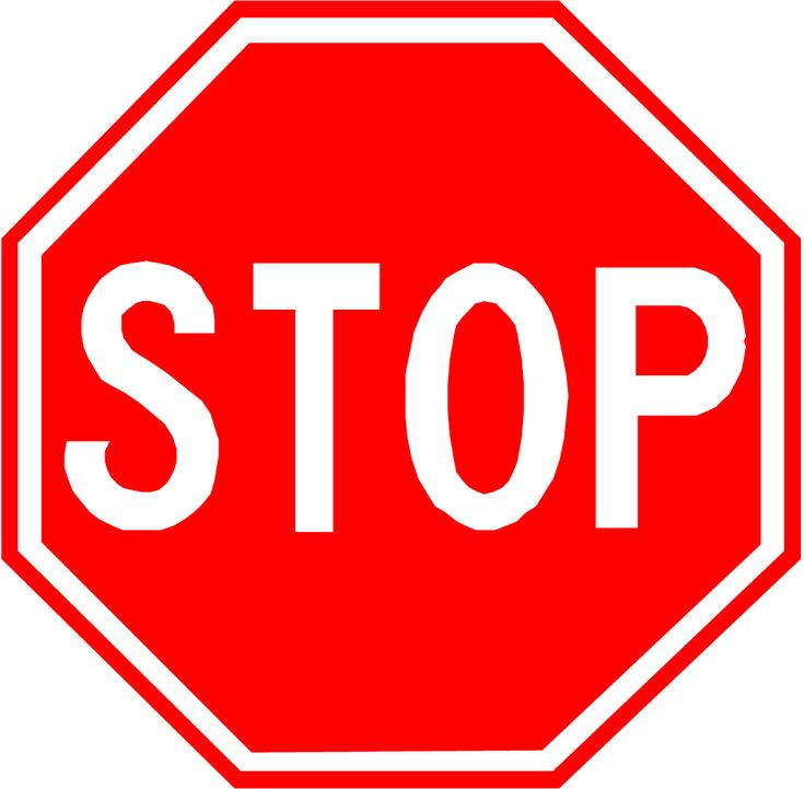s t o p road signs school and activities