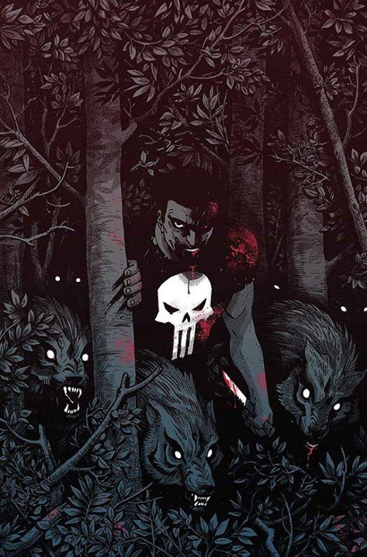 """bear1na: """" The Punisher by Becky Cloonan * """""""