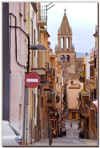 Bajada a la Iglesia  Palamós  Costa Brava  Catalonia
