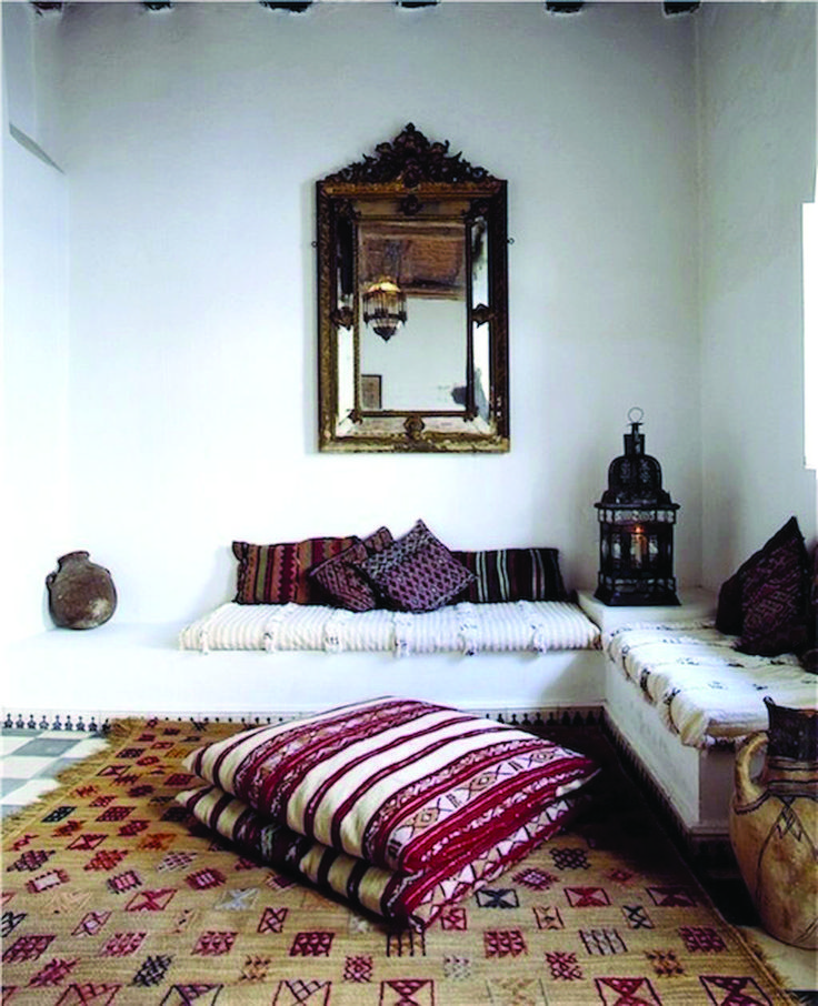 Beautiful Moroccan Interior Design Ideas Floor Seating
