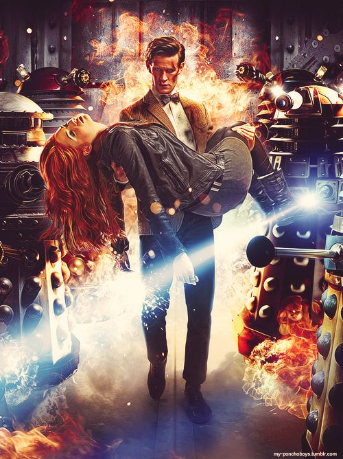 Doctor Who Promo Pic ~ Season 7 Episode One ~ Asylum of the Daleks (oh my goodness, am gonna cry)