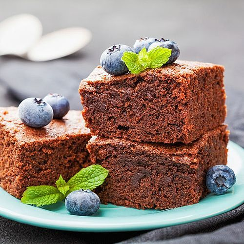Saftige Low Carb Brownies