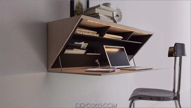 Schreibtisch Klappbar Wand 2021