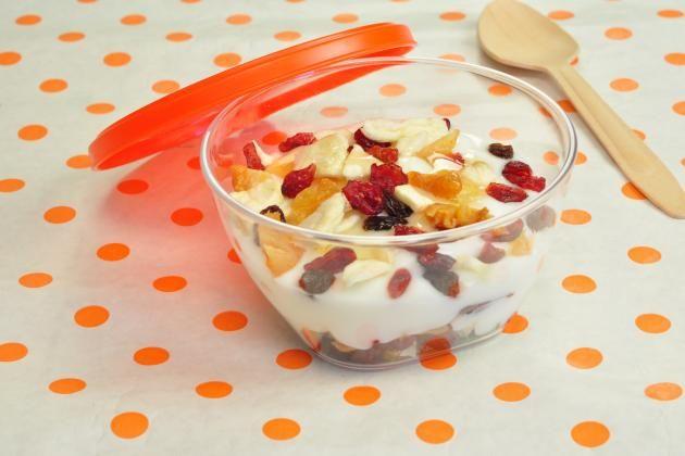 I found a great recipe for Fruity Yoghurt