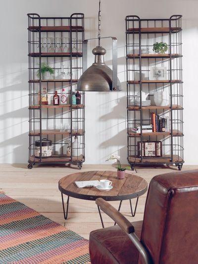 Etagère style industriel chez Cocktail Scandinave