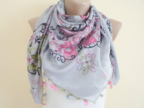 New Women Scarf Fashion Scarves Unique Mothers by BloomedFlower