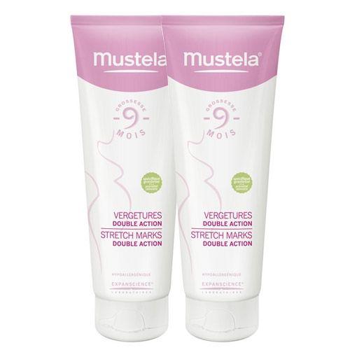 Hamilelik döneminde oluşması muhtemel çatlakları önlemek için kullanabileceğiniz en etkili ürünlerden birisi de bu: Mustela Stretch Marks Double Action 150ml(2'li) | 119,85 TL |Dermoeczanem'da