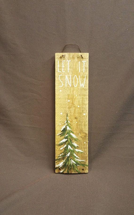 Hand bemalte Weihnachtsschmuck Geschenke von TheWhiteBirchStudio