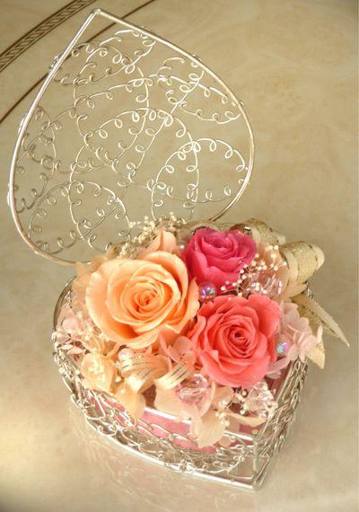 preserved flower リングピロー* Prinncess