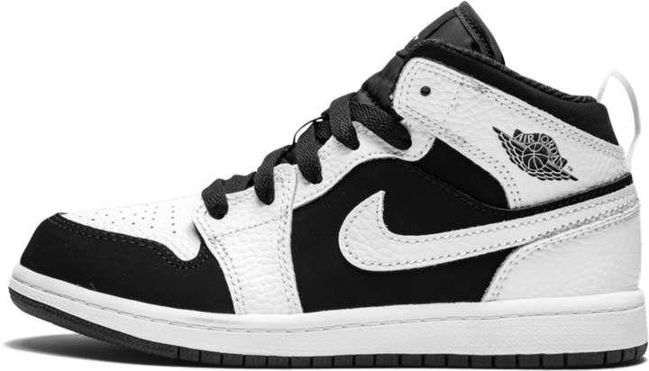 640734 113 PS Jordan 1 Mid White//Black-White