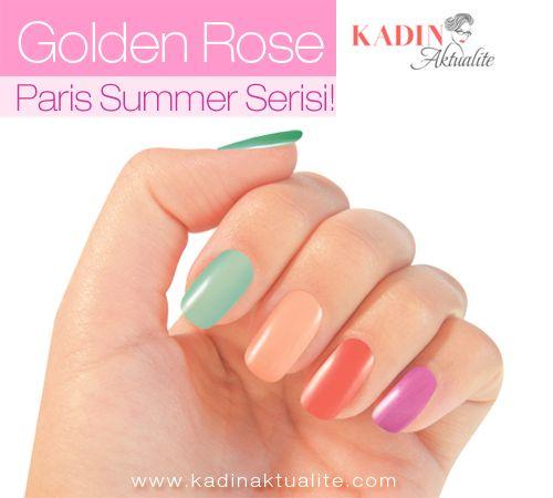Golden Rose Paris Summer Ojeler   Kadın Aktüalite
