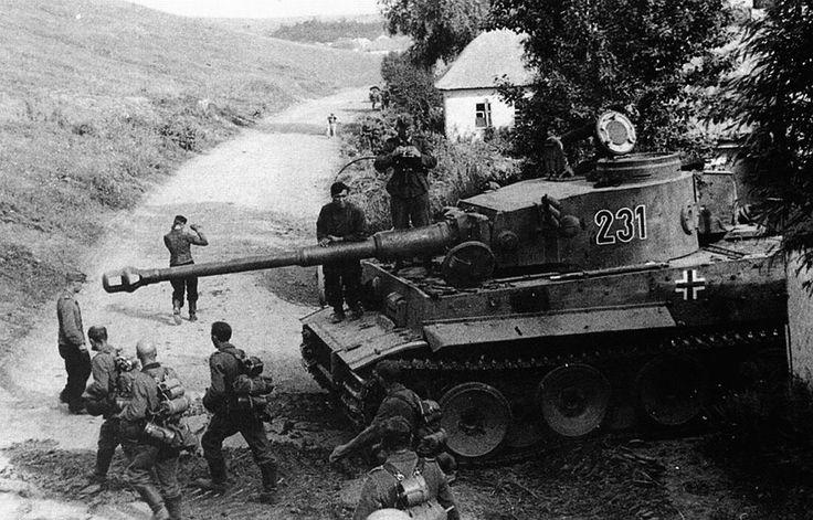 Belgorod, Kursk sector 1943