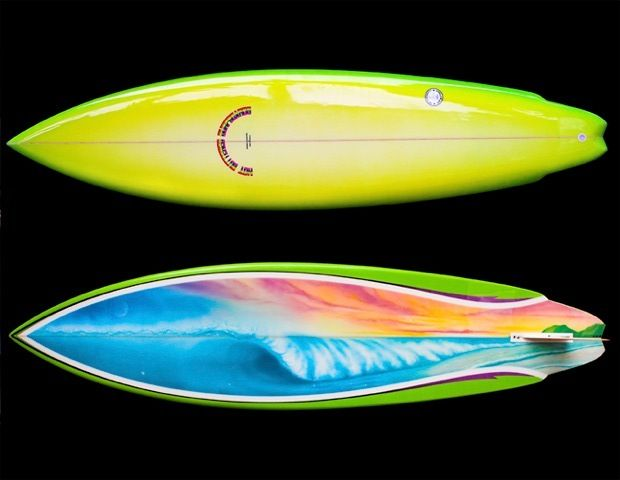 Round singl fin surfboards | This classic possibly offers the truest single fin feeling
