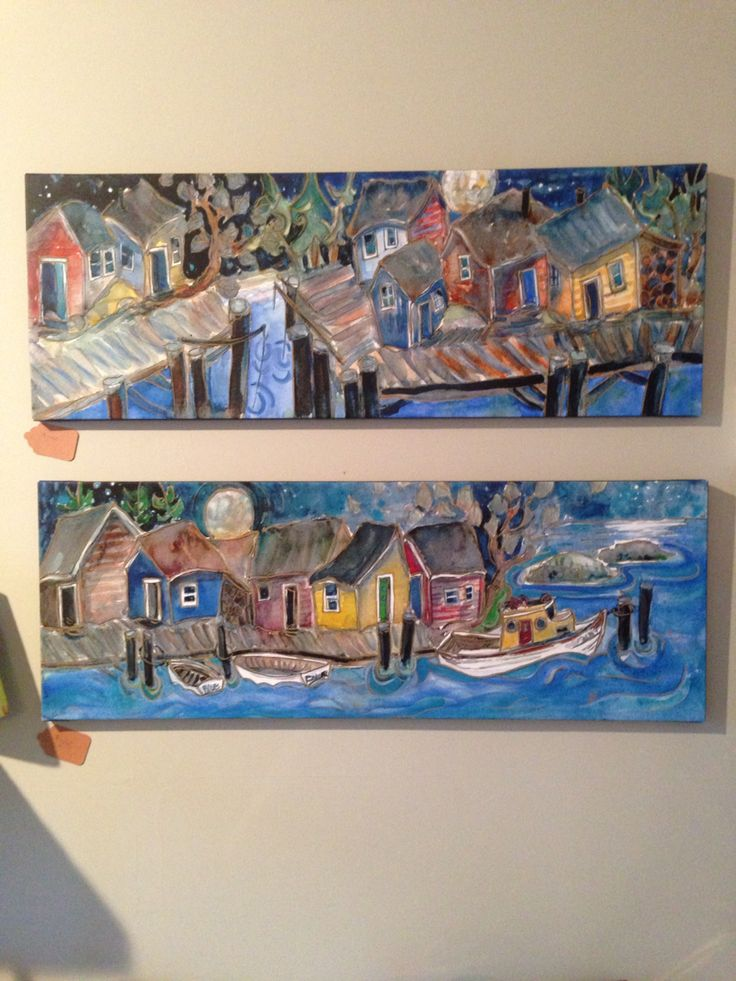 New Westcoast paintings by artist Jill Louise Campbell @jlcgallery
