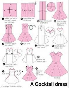 jupe origami tutorial
