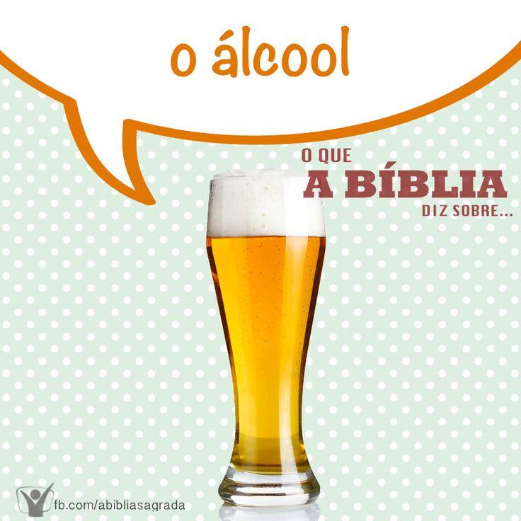 """A Bíblia diz em Provérbios 20:1 """"O vinho é escarnecedor, e a bebida forte alvoroçadora; e todo aquele que neles errar não é sábio.""""  Quer saber ainda mais? Acesse... http://biblia.com.br/perguntas-biblicas/alcool/o-que-a-biblia-diz-sobre-a-bebida-alcoolica/"""