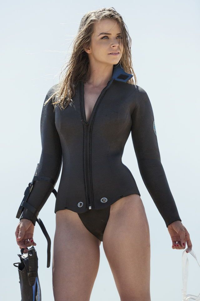 Sexy girls in wetsuit