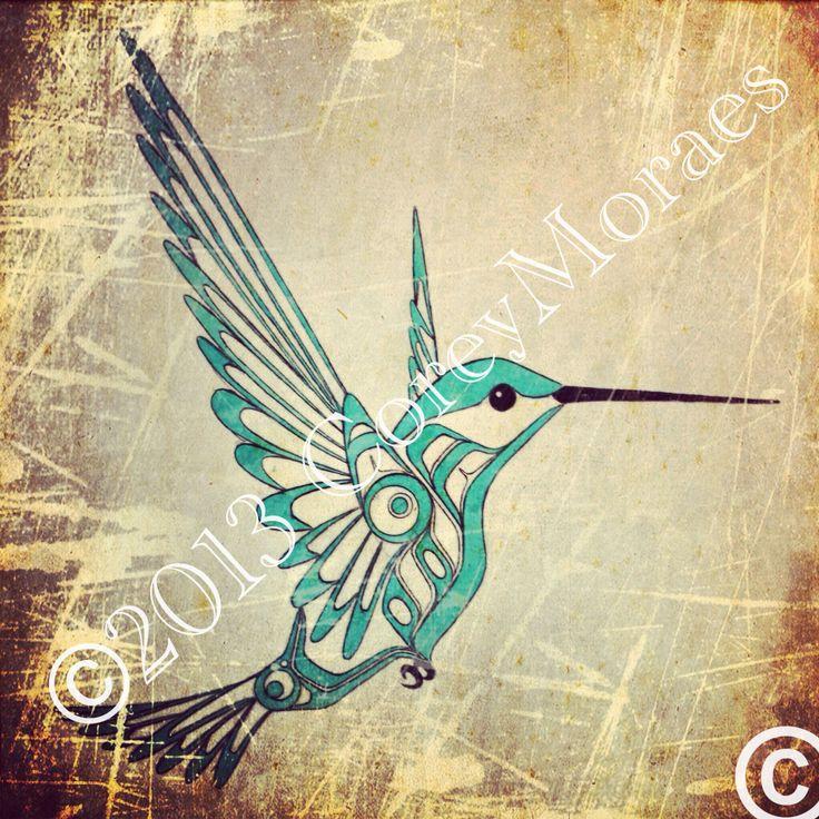 New hummingbird #1 flash, by Corey Moraes