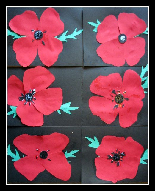 Remembrance Poppies by Merrily Me, via Flickr