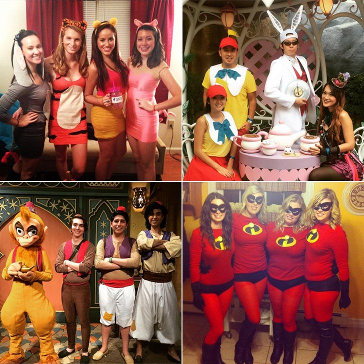 halloween and go as a group from pixar to almost every disney princess variation imaginable weve found awesome costumes for you and your crew to diy - Disney Princess Halloween Costumes Diy