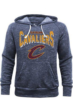 Cleveland Cavaliers Mens Navy Blue Layup Fashion Hood
