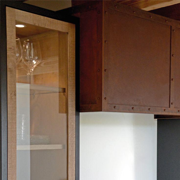 les 69 meilleures images propos de cuisine d 39 ambiance atelier sur pinterest fils design. Black Bedroom Furniture Sets. Home Design Ideas