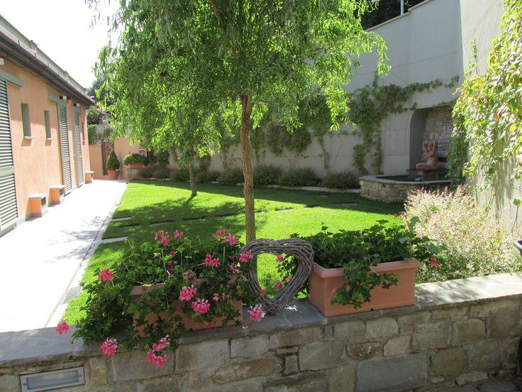 Residence Fiesole giardino al primo piano