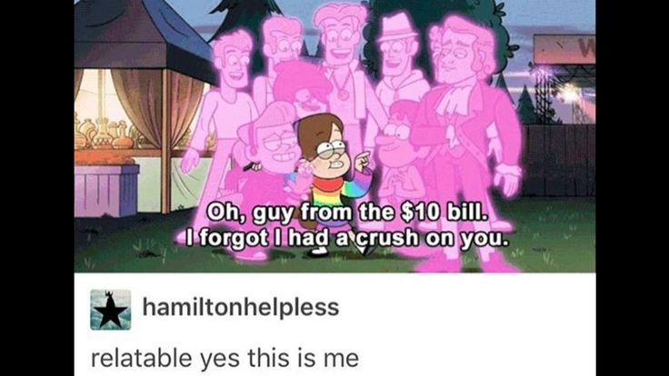 Hamilton on Broadway has changed my life, but it's also turned me into Mabel...