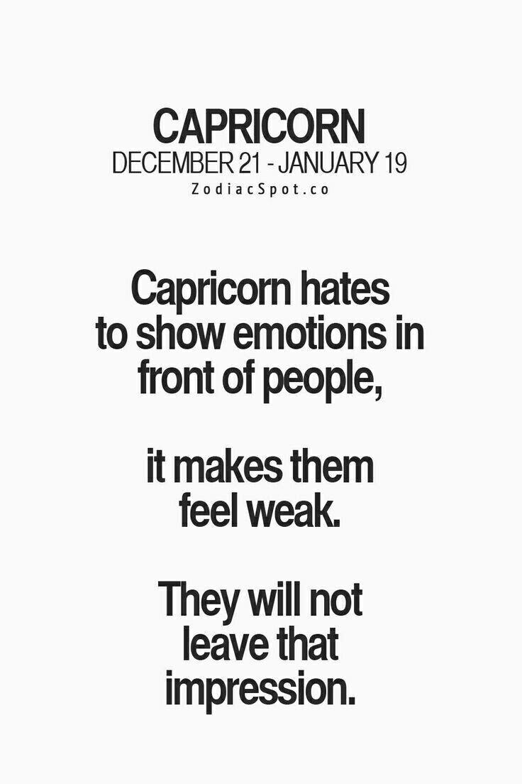Capricorn likes and dislikes