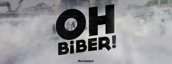 Typographic- yummy pepper! #Occupygezi memories by Oğuzcan Pelit, via Behance