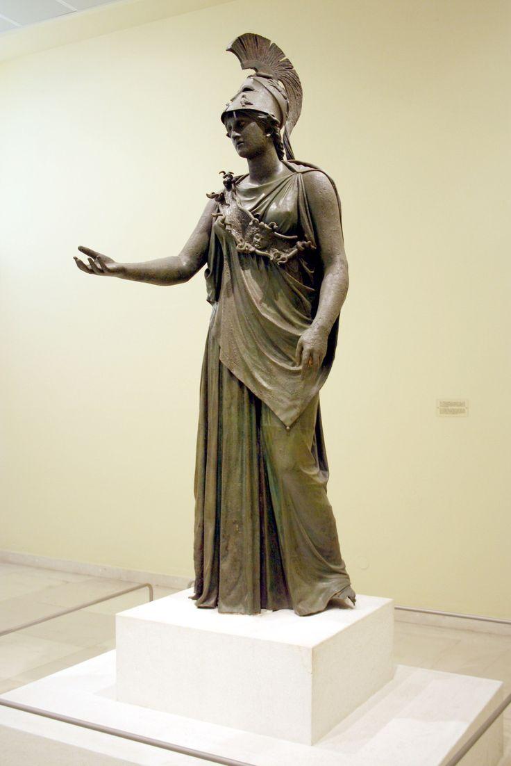 Estatua de  Atenea del Pireo  (s. IV A.C.) #Arquelogia