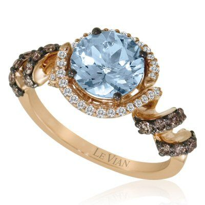 Le Vian Chocolate Diamonds - I'm not a jewelry person, per se, but these Chocolate Diamonds are fab.