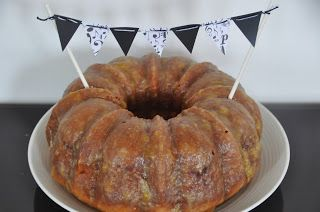Peaches and Cream Bundt Cake ~ The cake is moist, and has a thick ...