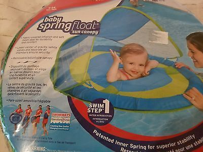 Pool Floatation Device Water Training Baby Spring Float Canopy 9-24 Mos Swim 1