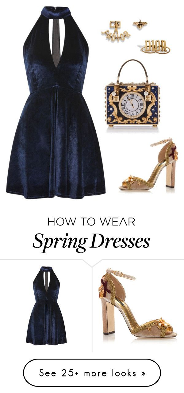 """""""Untitled #4247"""" by hammy-cute-cute on Polyvore featuring Oh My Love and Dolce&Gabbana"""