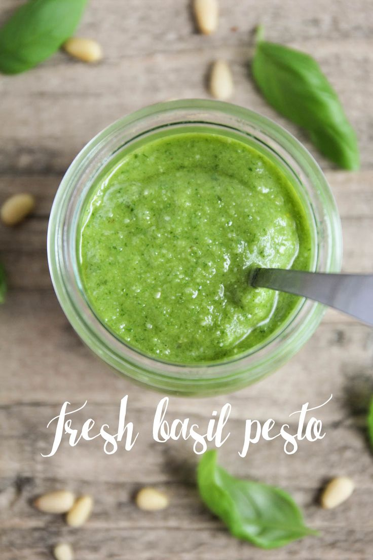 Fresh Basil Pesto | Basil pesto, Pesto and Five ingredients