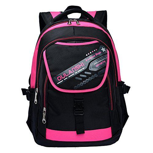 Vere Gloria Men Women School Backpack Bags, Large Capacity Casual Travel Back Packs for Teenage Girls Boys, 15 Inch Laptop Rucksacks for Elementary Middle High School College Students (Rose) Vere Gloria http://www.amazon.com/dp/B00Y0KWC3Y/ref=cm_sw_r_pi_dp_mdO9vb0GJGCK8