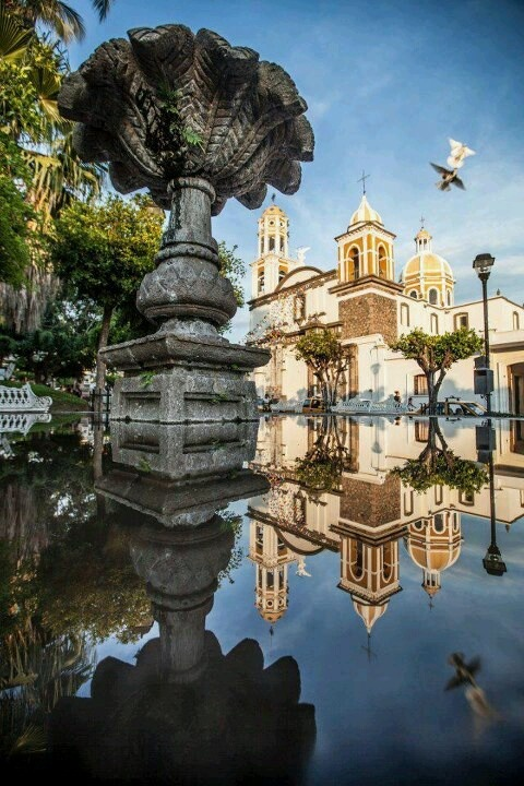 #Comala, Colima in Mexico