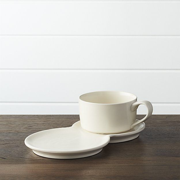 2-Piece Soup and Sandwich Set - Crate and Barrel & 90 best Snack plate u0026 cup set/Tea and Toast set/Tennis plate set ...