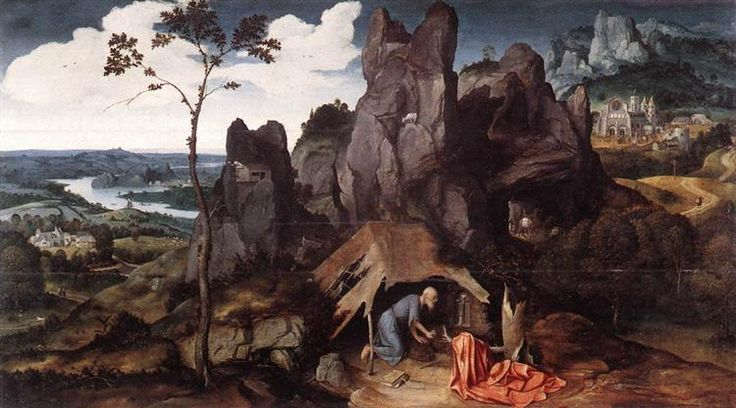 St. Jerome in the Desert - Patinir Joachim