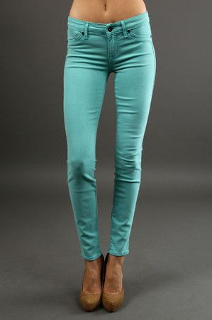 The Legacy Pant in Foam by Rich & Skinny - I love this color!