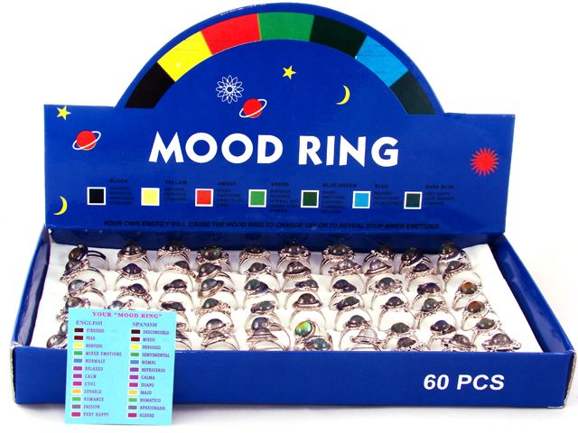 Cheap Mood Ring Color Meanings